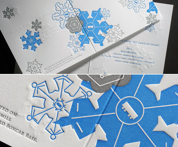 Boxcar Press Holiday card