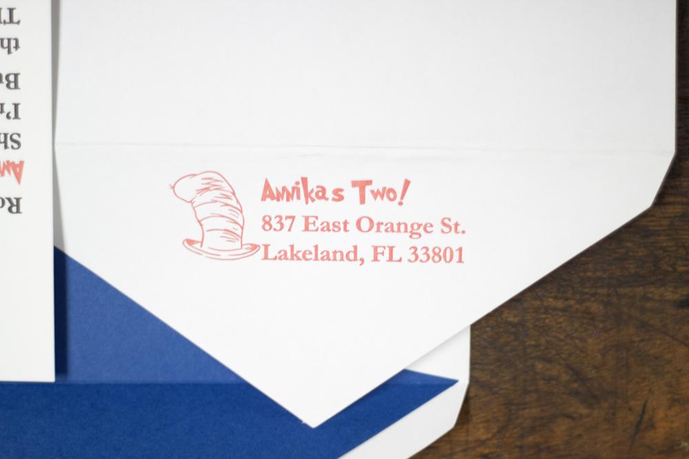 Annika letterpress birthday invitation a fine press if youd like custom invitations for a birthday filmwisefo