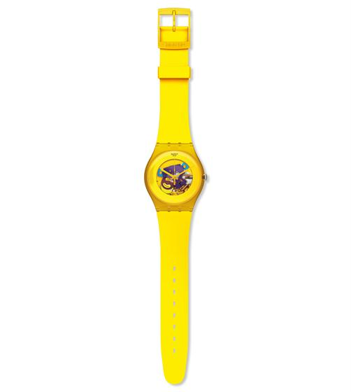 SWATCH Yellow Lacquered
