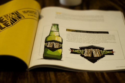 A Fine Press Beer Label in Lakelander Magazine_02
