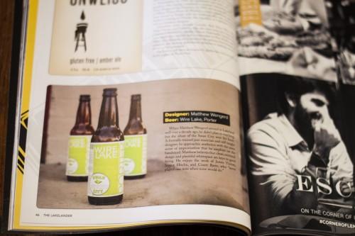 A Fine Press Beer Label in Lakelander Magazine_03