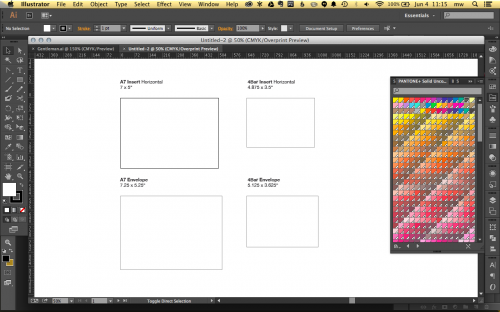 designing stationery in adobe illustrator using templates a fine