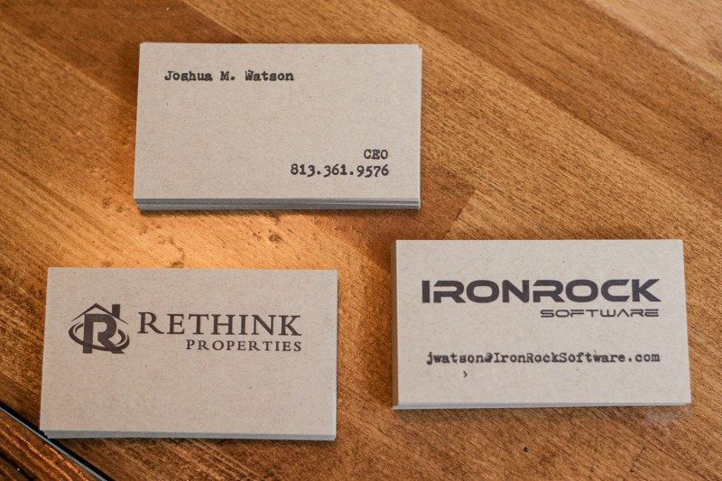 Joshua Watson Business Cards (1 of 9)