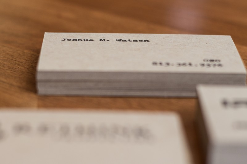 Joshua Watson Business Cards (4 of 9)