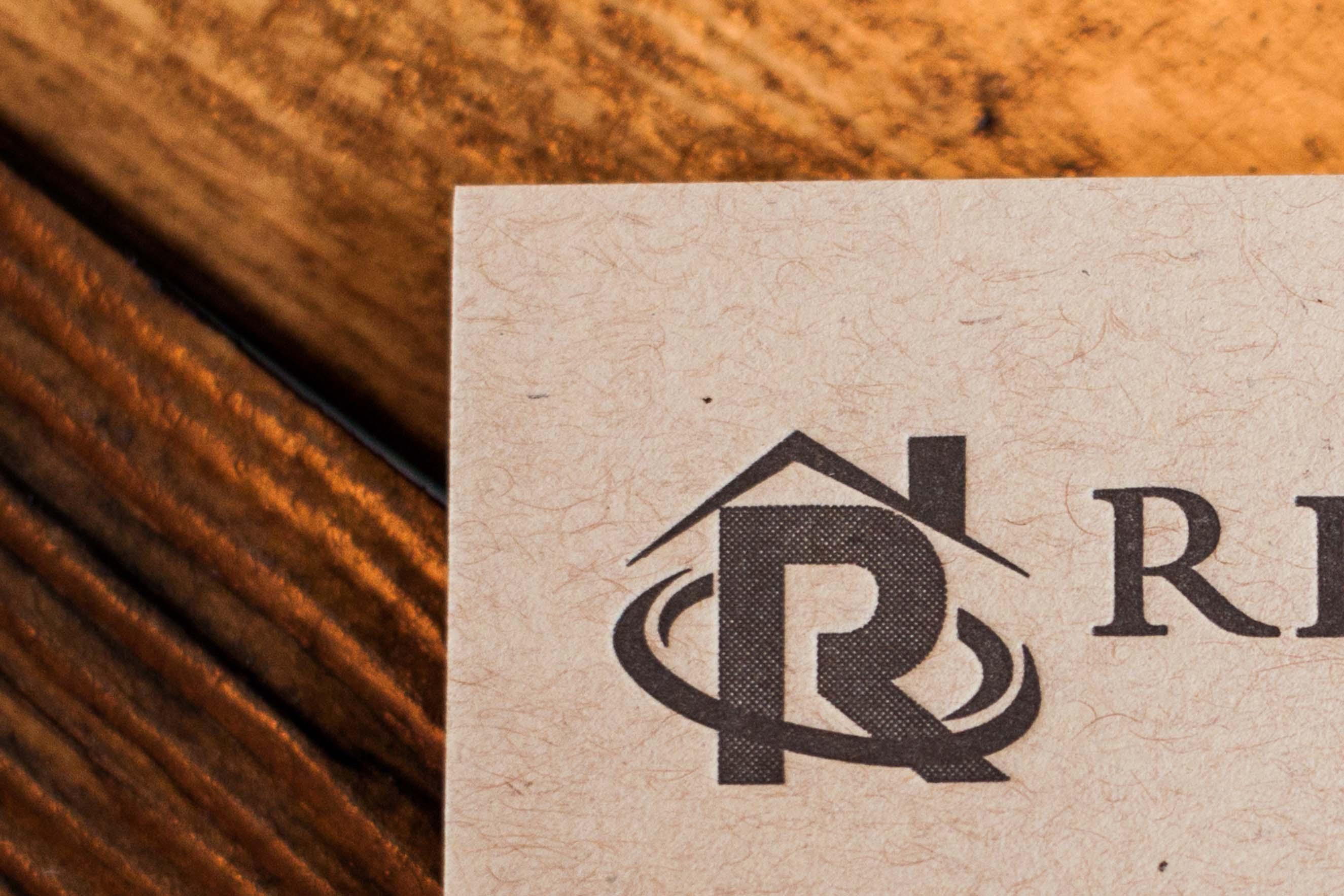 A pair of letterpress business cards a fine press pin it on pinterest a fine press joshua watson business cards reheart Gallery