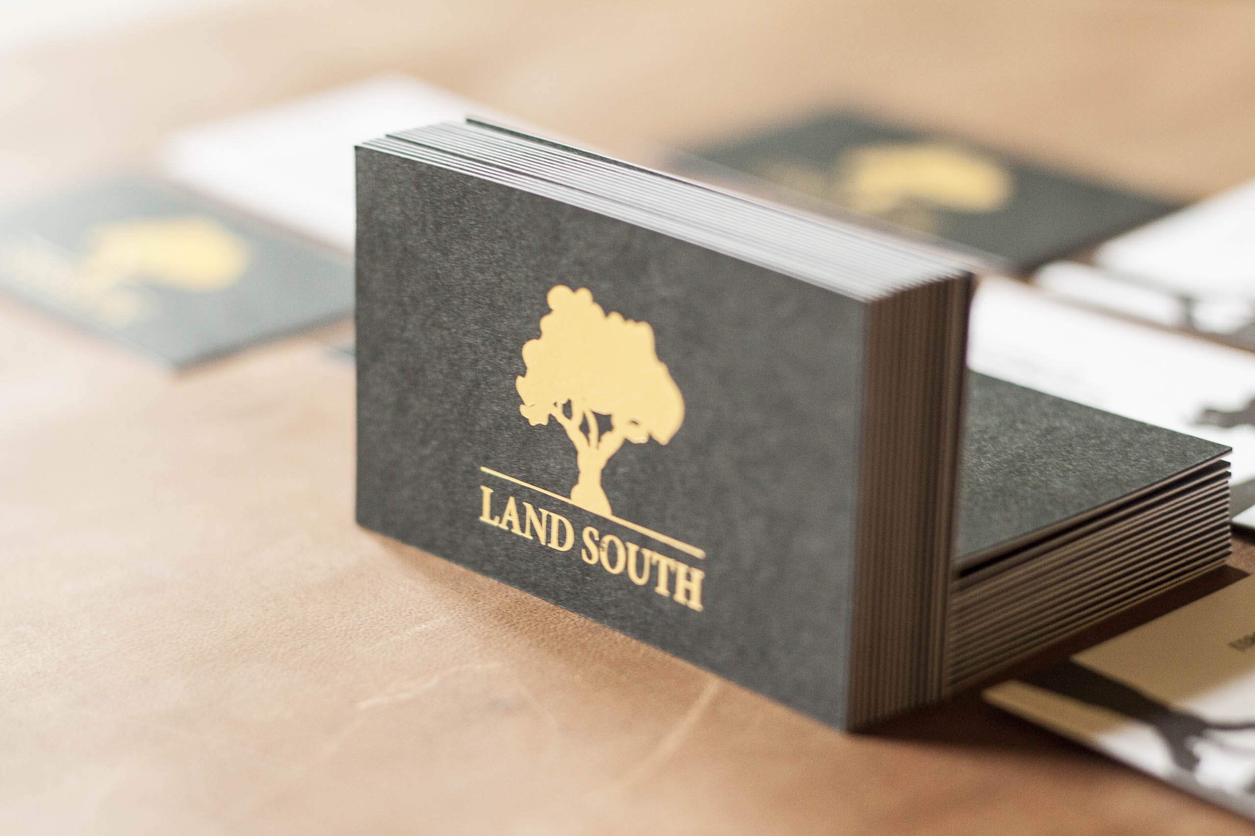 Case Study - Agricultural Business Cards - A Fine Press