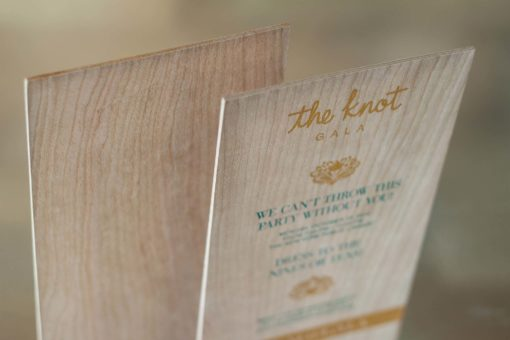 Wedding Trend Alert | Upscale Wood