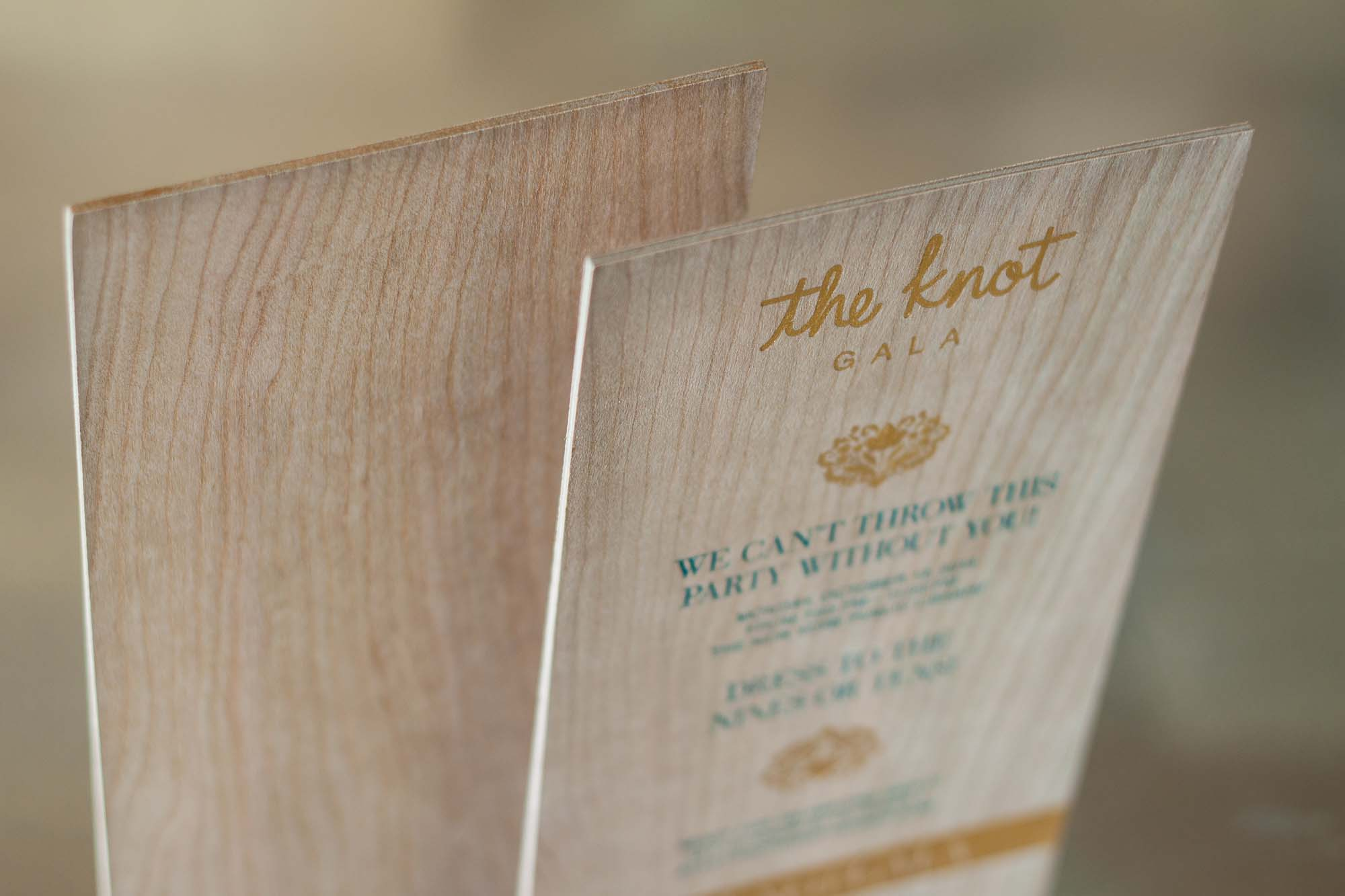 Wedding Trend Alert | Upscale Wood