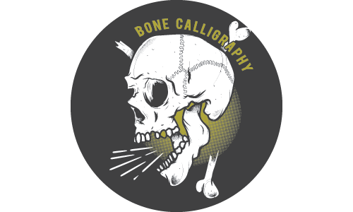 Bone Calligraphy
