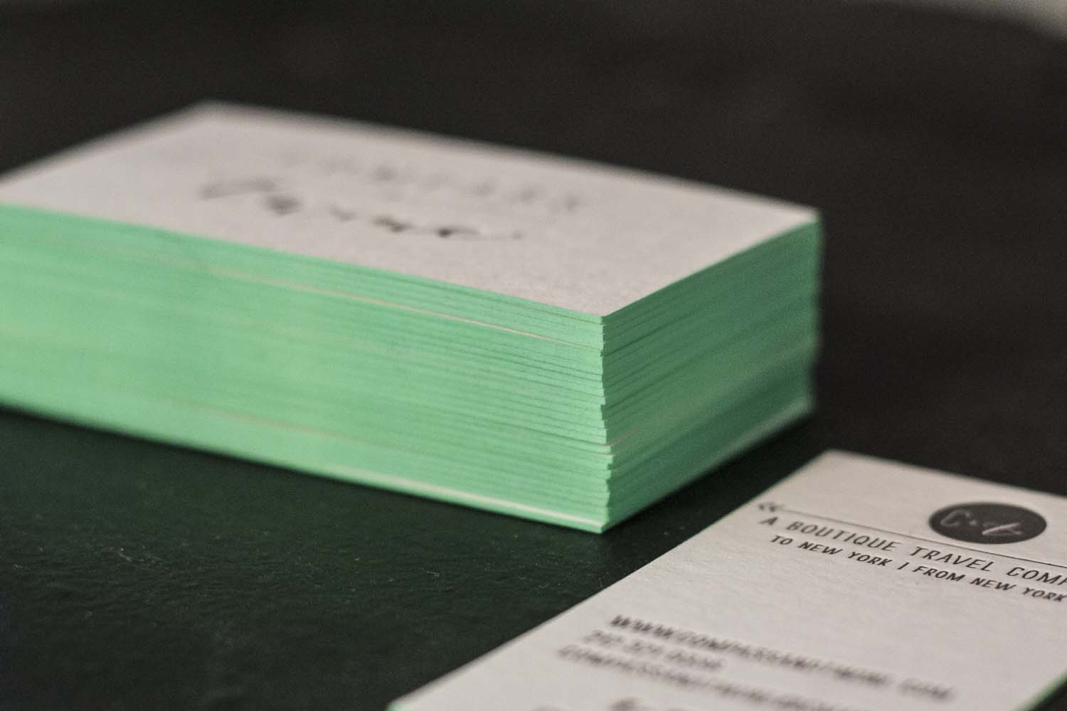 Compass and Twine Letterpress Business Cards - A Fine Press-6