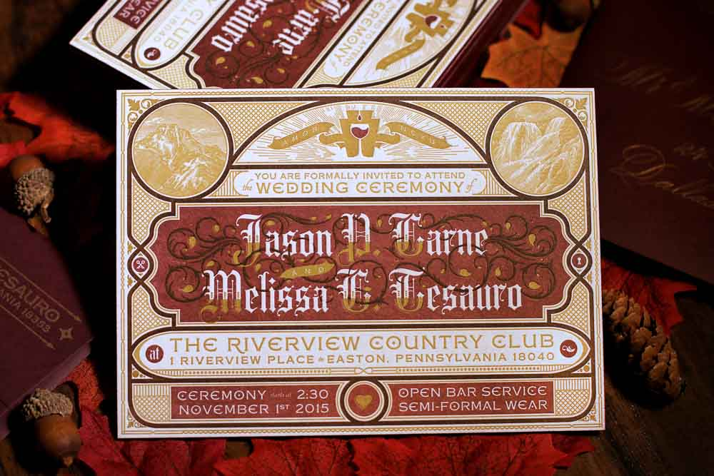 A Graphic Designer's Wedding Invitation