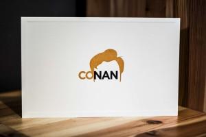 Conan O'Brien's Notecards