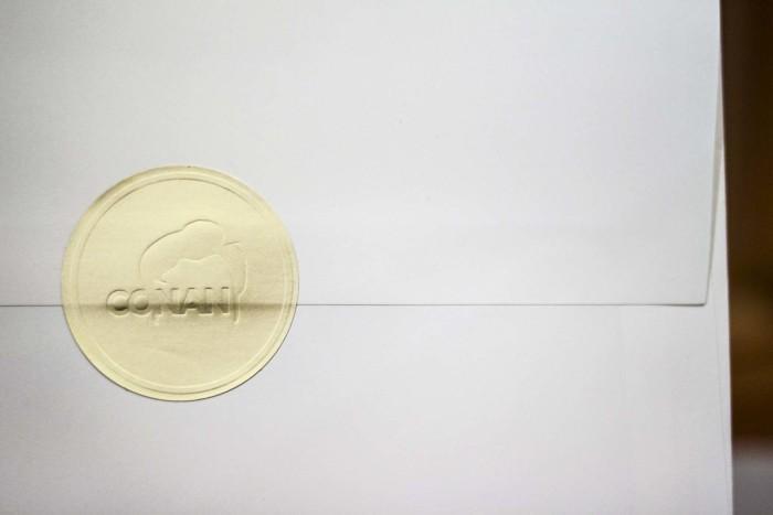 Letterpress Notecards for Conan OBrien by A Fine Press06