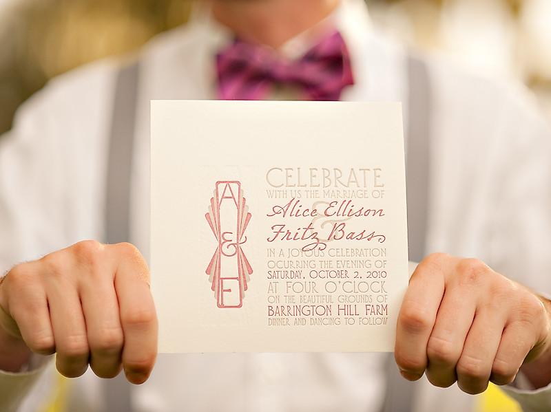 Letterpress and Laser-Engraved Wedding Stationery24