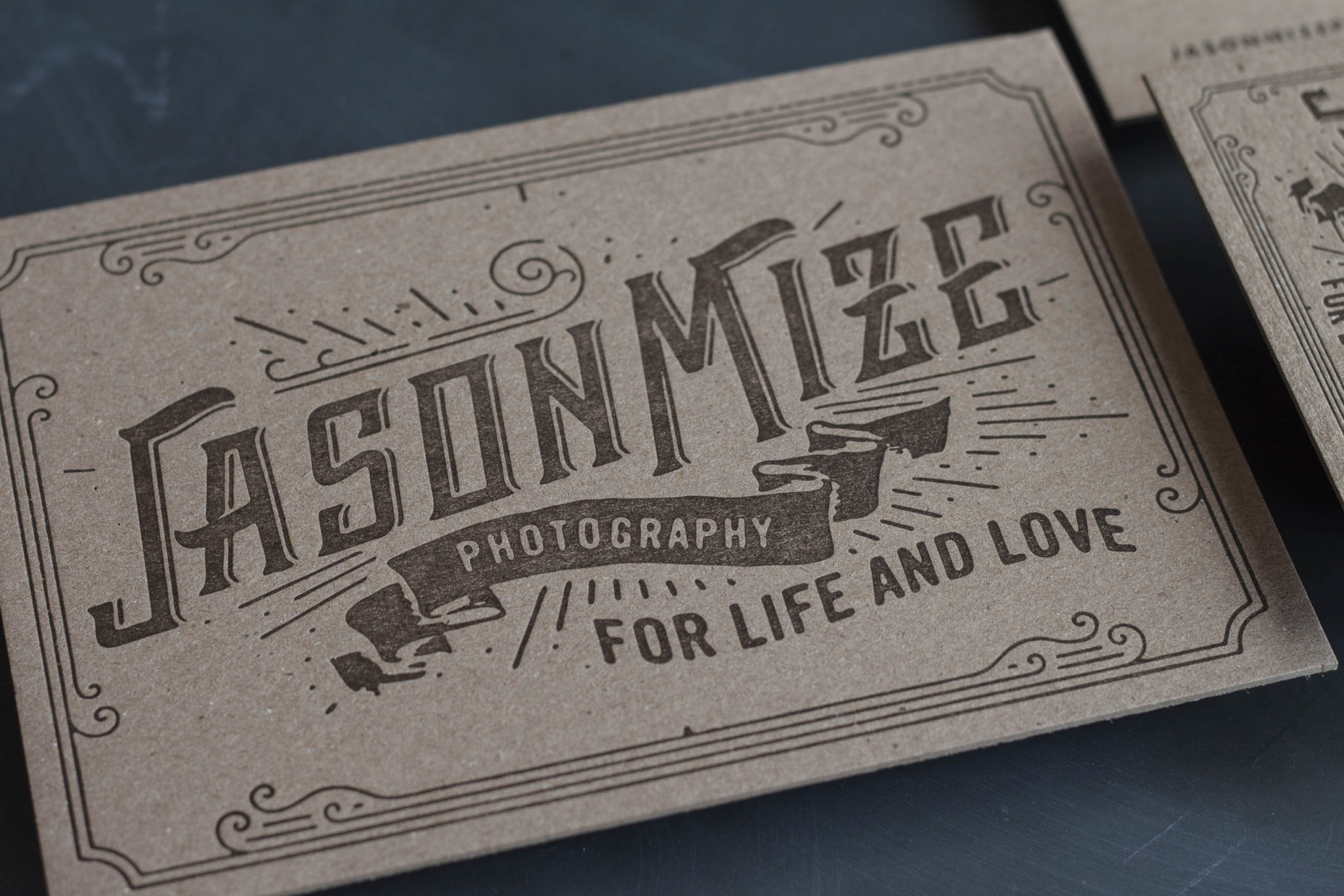 Letterpress Business Cards for a Wedding Photographer-13