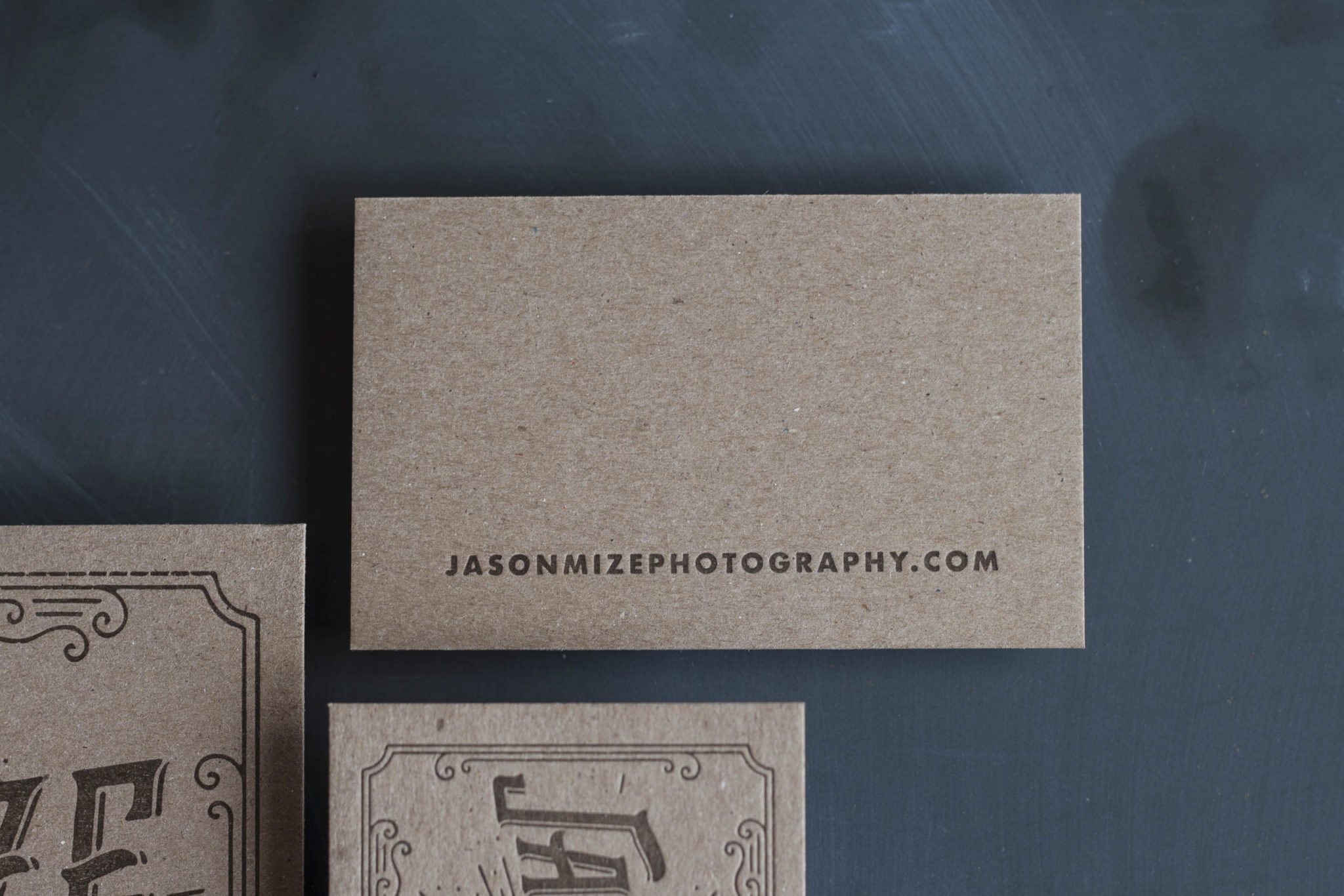 Letterpress Business Cards for a Wedding Photographer-15