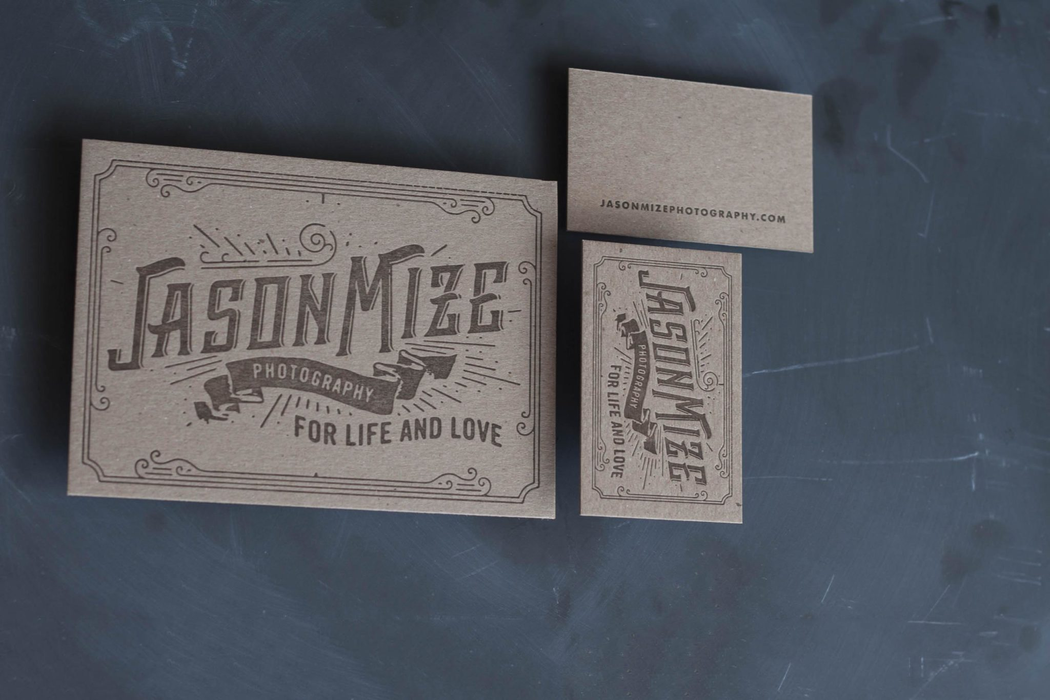 Letterpress Business Cards for a Wedding Photographer-19