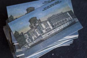 4-color CMYK Letterpress Postcard