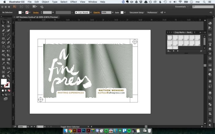 Designing Stationery In Adobe Illustrator – Using Templates