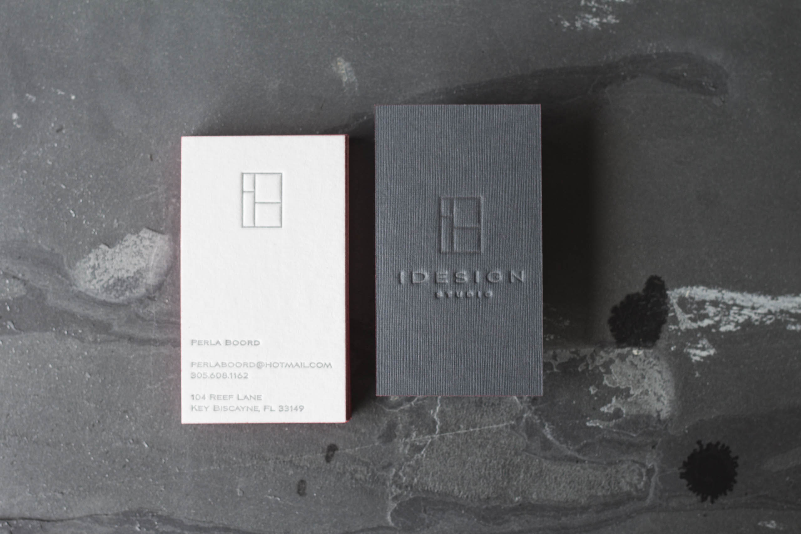 Modern Luxury Stationery for a South Florida Designer