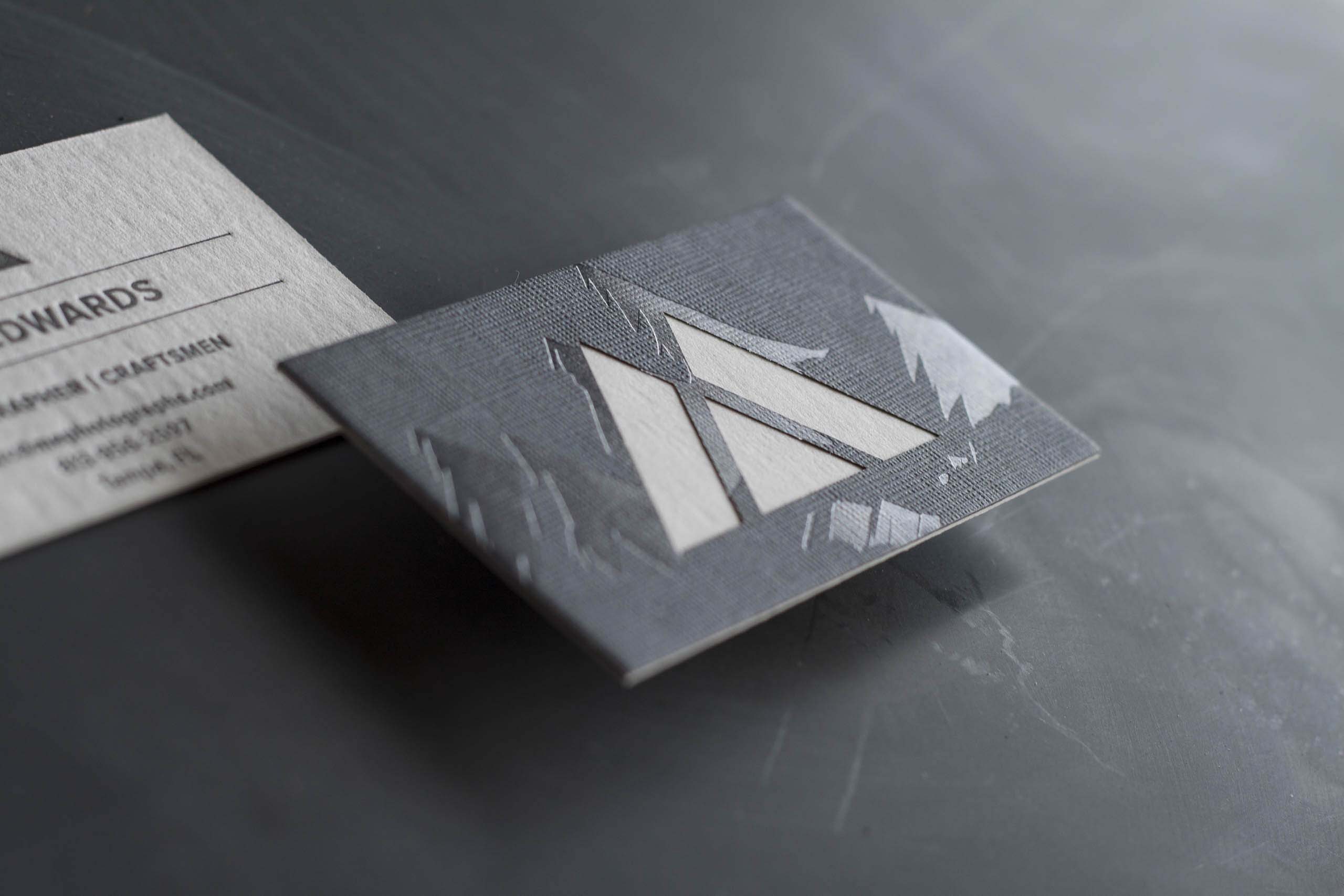 One Key to a Memorable Business Card - A Fine Press