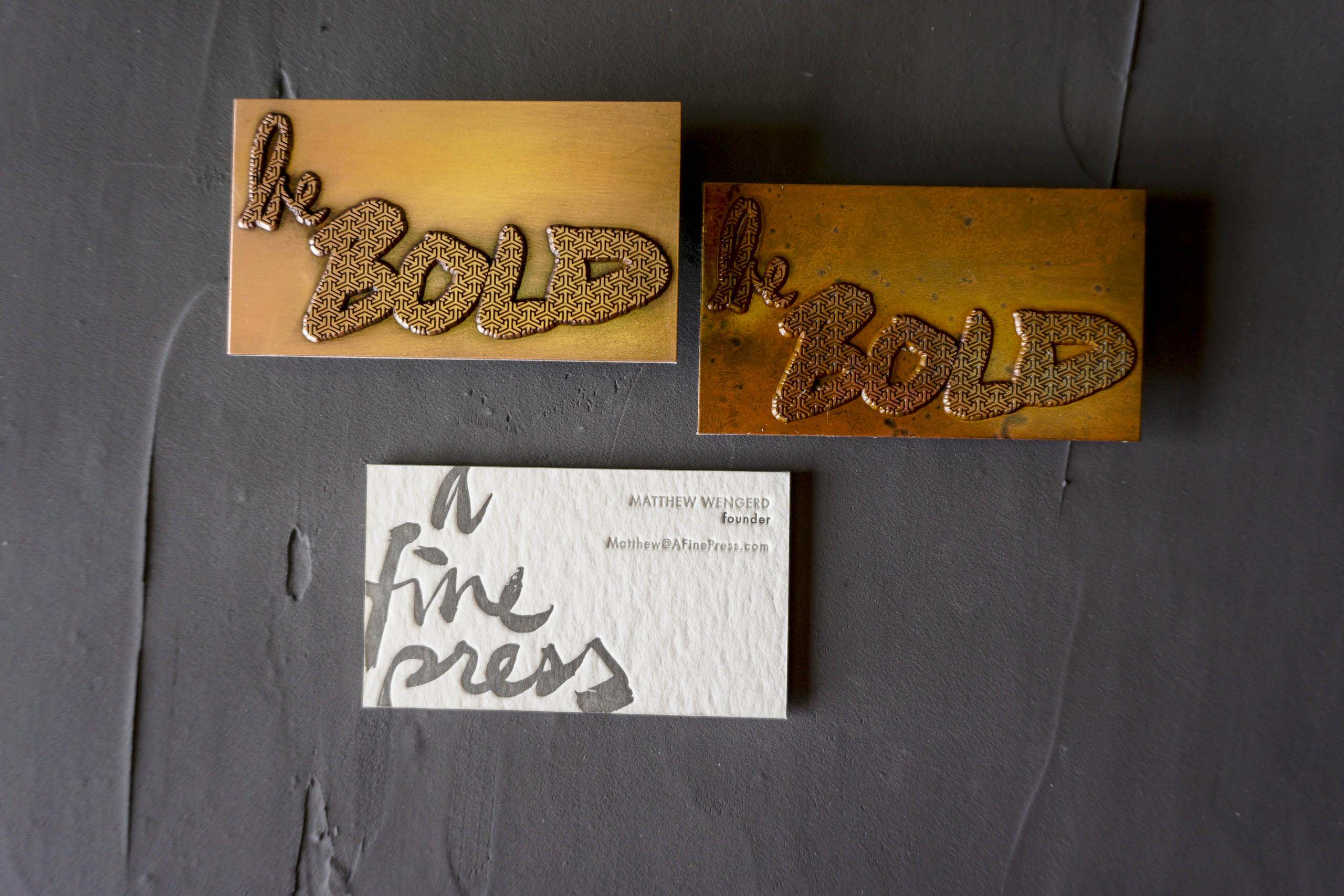Copper Business Cards-2