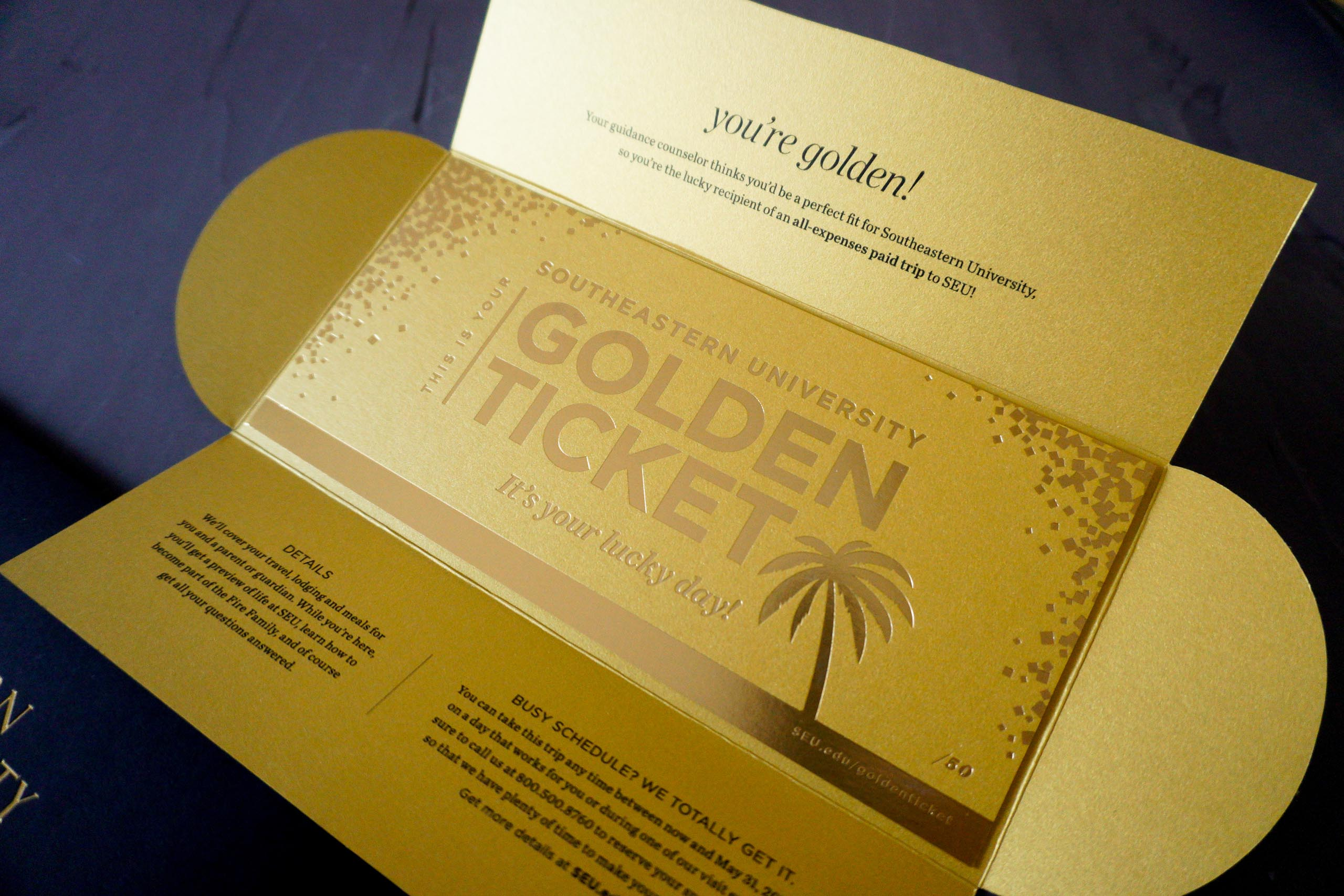 Golden Ticket by A Fine Press