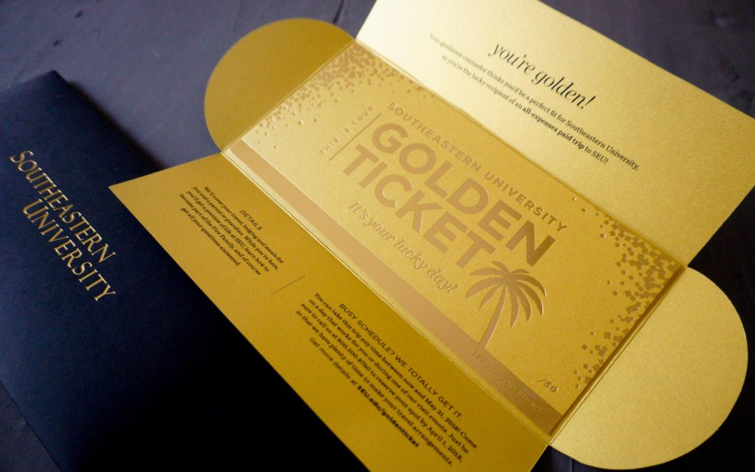 Golden Tickets for Southeastern University
