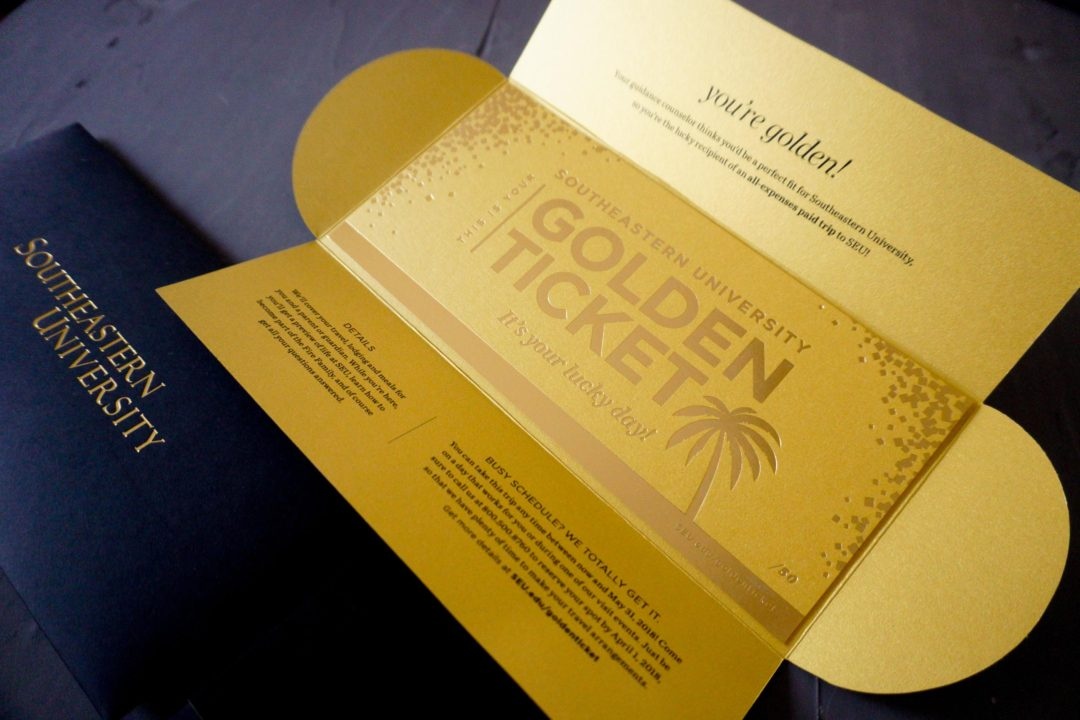Golden Tickets for Southeastern University